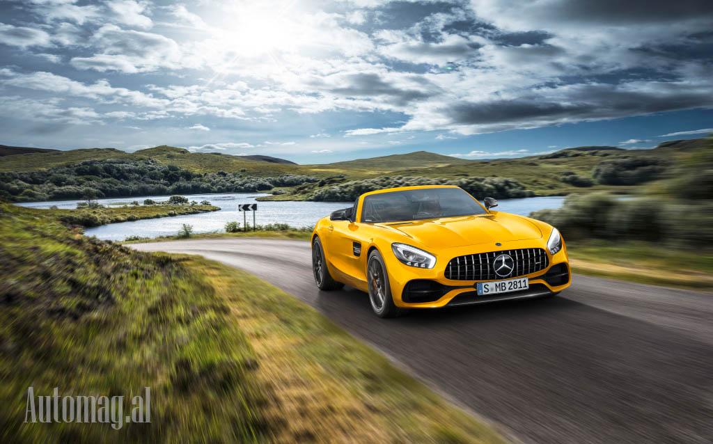 Mercedes GT roadster S 01