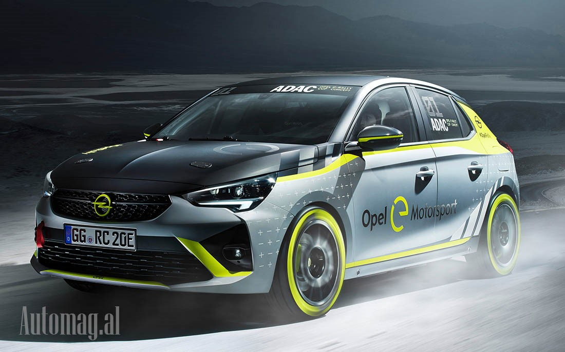 Opel Corsa 2021 e-Rally 10